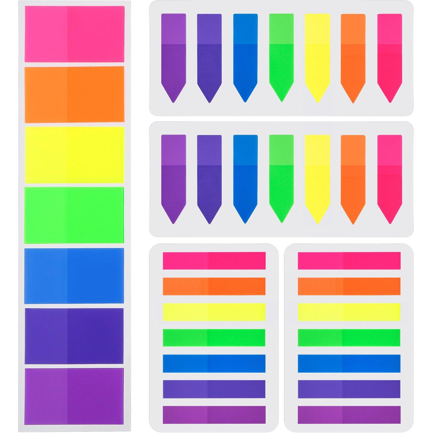 7159 Sticky Index Paper Label Sticker Highlighter Tabs Notes Flags