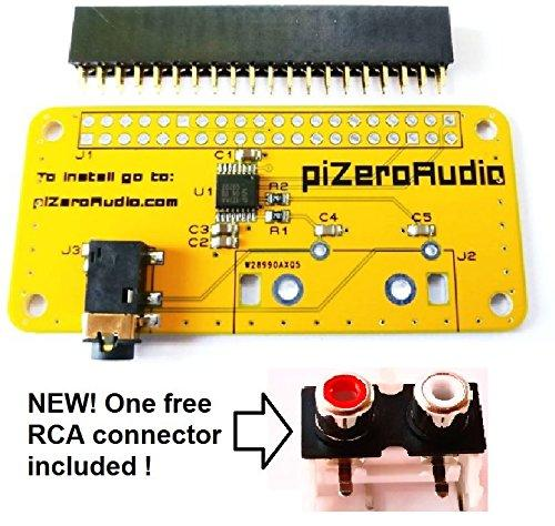 Audio DAC HAT Sound Card for Raspberry Pi Zero / A+ / B+ / R
