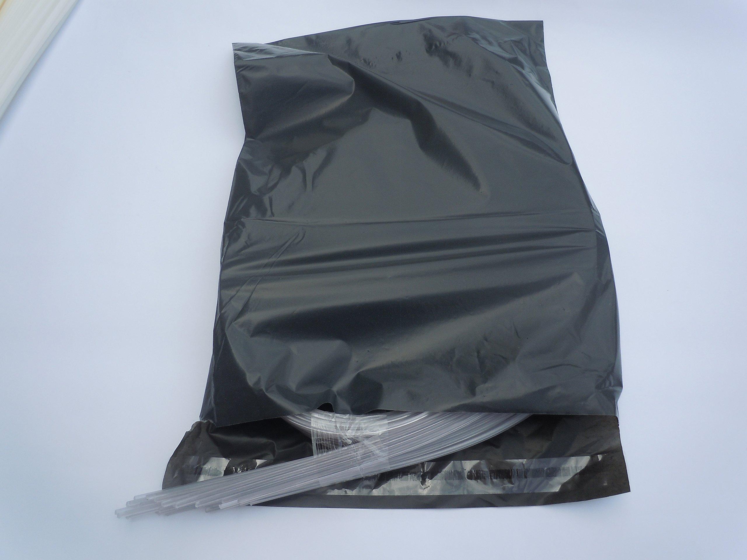20pcs//lot 1pcs=1m PP ABS PE PVC PPR plastic welding rod car pipe plastic sheet welding grey white black beige transparent Transporter-Galaxy