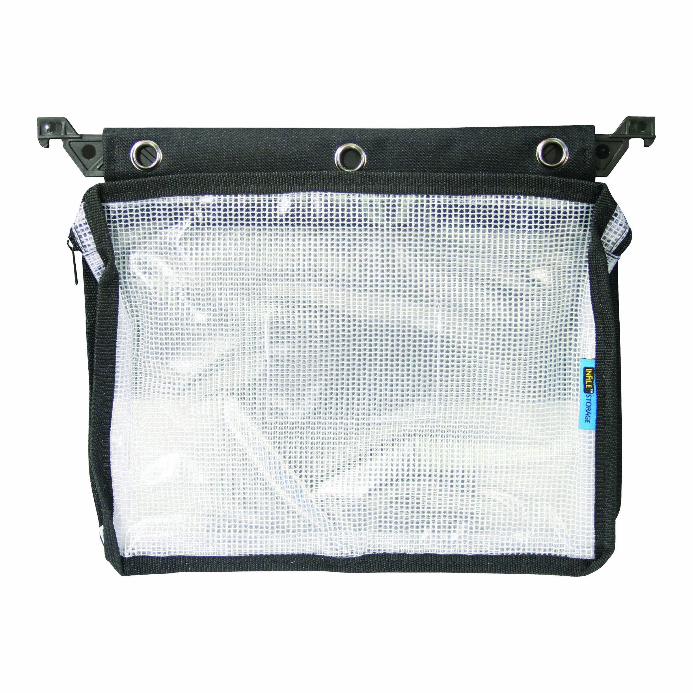 Advantus 50904 Expanding Zipper Pouch with 3-Ring Grommets,